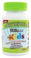 Image of Factor Nutrition Labs - Focus Factor For Kids Berry Flavor - 60 Chewable Wafers
