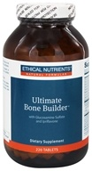 Ethical Nutrients - Ultimate Bone Builder With Glucosamine Sulfate and Ipriflavone - 220 Tablets (098129055766)