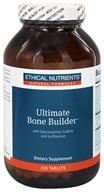 Ethical Nutrients - Ultimate Bone Builder With Glucosamine Sulfate and Ipriflavone - 220 Tablets - $24.51