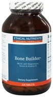 Ethical Nutrients - Bone Builder MCHC With Magnesium Boron & Vitamin D - 220 Tablets - $20.20