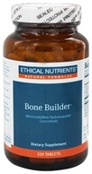 Ethical Nutrients - Bone Builder Microcrystalline Hydroxyapatite Concentrate - 220 Tablets by Ethical Nutrients
