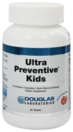 Image of Douglas Laboratories - Ultra Preventive Kids Natural Orange Flavor - 60 Tablets