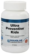 Douglas Laboratories - Ultra Preventive Kids Natural Orange Flavor - 60 Tablets by Douglas Laboratories