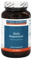 Ethical Nutrients - Malic Magnesium - 120 Tablets DAILY DEAL - $13.33