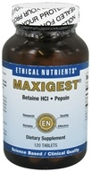 Ethical Nutrients - Maxigest - 120 Tablets - $12.27
