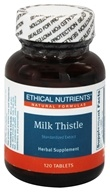 Ethical Nutrients - Milk Thistle - 120 Tablets