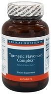 Ethical Nutrients - Turmeric Flavonoid Complex - 60 Tablets