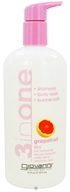 Giovanni - 3 in One Shampoo, Bodywash and Bubblebath Grapefruit Sky - 16 oz.