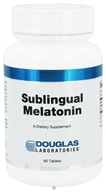 Douglas Laboratories - Melatonin Sublingual 1 mg. - 60 Tablets - $9