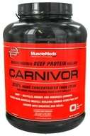 MuscleMeds - Carnivor Bioengineered Beef Protein Isolate Fruit Punch - 4 lbs. by MuscleMeds