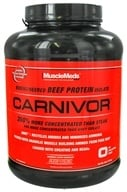 MuscleMeds - Carnivor Bioengineered Beef Protein Isolate Fruit Punch - 4 lbs. - $48.69