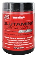 MuscleMeds - Glutamine Decanate Professional Strength Micronized L-Glutamine - 10.58 oz.