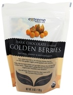 Extreme Health USA - Golden Berries covered with Dark Chocolate - 6 oz.