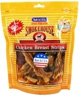 Smokehouse Pet Products - Chicken Breast Strips Dog Treats - 8 oz. (078565843172)