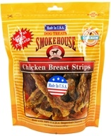 Smokehouse Pet Products - Chicken Breast Strips Dog Treats - 8 oz. by Smokehouse Pet Products