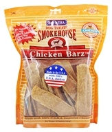 Smokehouse Pet Products - Chicken Barz Dog Treats - 16 oz.