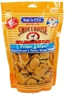 Smokehouse Pet Products - Prime Chips Dog Treats Chicken Breast & Turkey Breast Tendons - 16 oz. - $22.03