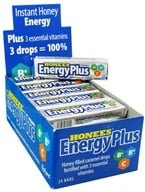 Honees - Energy Plus Honey Filled Caramel Drops - 9 Lozenges by Honees