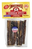 Smokehouse Pet Products - Beef Pizzle Stix For Dogs Medium - 6 Pack by Smokehouse Pet Products