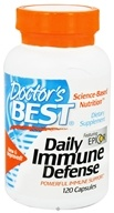 Doctor's Best - Daily Immune Defense Featuring EpiCor - 120 Capsules
