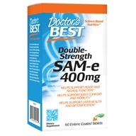 Doctor's Best - SAMe 400 Double Strength 400 mg. - 60 Enteric-Coated Tablets /LUCKY PRICE