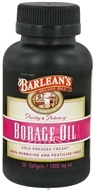 Barlean's - Borage Oil Cold Pressed 1000 mg. - 30 Softgels, from category: Nutritional Supplements