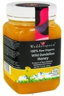 Wedderspoon Organic - 100% Raw Organic Wild Dandelion Honey - 17.6 oz.