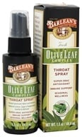 Barlean's - Fresh Olive Leaf Complex Throat Spray Soothing Peppermint Flavor - 1.5 oz. - $10.80