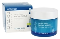 Image of Andalou Naturals - Facial Scrub Clarifying Lemon Sugar - 1.7 oz.