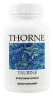 Image of Thorne Research - Taurine 500 mg. - 90 Vegetarian Capsules