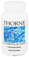 Thorne Research - DL-Phenylalanine 550 mg. - 60 Vegetarian Capsules