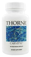 Thorne Research - Carnityl 500 mg. - 60 Vegetarian Capsules (693749520023)