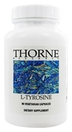 Thorne Research - L-Tyrosine 500 mg. - 90 Vegetarian Capsules