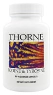 Image of Thorne Research - Iodine & Tyrosine - 60 Vegetarian Capsules