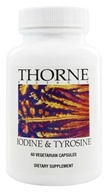 Thorne Research - Iodine & Tyrosine - 60 Vegetarian Capsules
