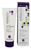 Andalou Naturals - Age Defying Ultra Sheer Daily Defense Facial Lotion 18 SPF - 2.7 oz.