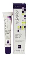 Andalou Naturals - Dermal Filler Age-Defying Deep Wrinkle - 0.6 oz.