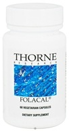 Thorne Research - Folacal 800 mcg. - 60 Vegetarian Capsules