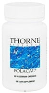 Image of Thorne Research - Folacal 800 mcg. - 60 Vegetarian Capsules