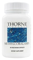 Thorne Research - Methylcobalamin 1000 mcg. - 60 Vegetarian Capsules - $18.95