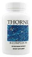 Thorne Research - B-Complex #6 - 60 Vegetarian Capsules, from category: Professional Supplements