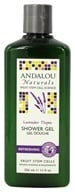 Andalou Naturals - Shower Gel Refreshing Lavender Thyme - 11 oz. (859975002140)