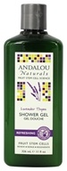 Image of Andalou Naturals - Shower Gel Refreshing Lavender Thyme - 11 oz.