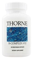 Thorne Research - B-Complex #12 - 60 Vegetarian Capsules, from category: Professional Supplements