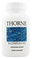 Thorne Research - B-Complex #12 - 60 Vegetarian Capsules - $13.25