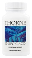 Thorne Research - R-Lipoic Acid 100 mg. - 60 Vegetarian Capsules, from category: Professional Supplements