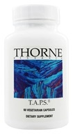 Thorne Research - T.A.P.S. - 60 Vegetarian Capsules - $27.50