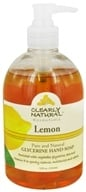 Clearly Natural - Natural Hand Wash Liquid Soap Lemon - 12 oz. Formerly Citrus Magic