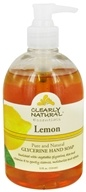 Clearly Natural - Natural Hand Wash Liquid Soap Lemon - 12 oz. Formerly Citrus Magic (087052129217)