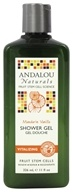 Image of Andalou Naturals - Shower Gel Vitalizing Mandarin Vanilla - 11 oz.